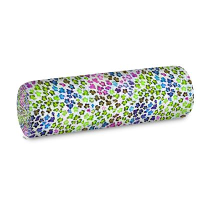 Leopard Skin Multicoloured Collection Big Bolster Cushion
