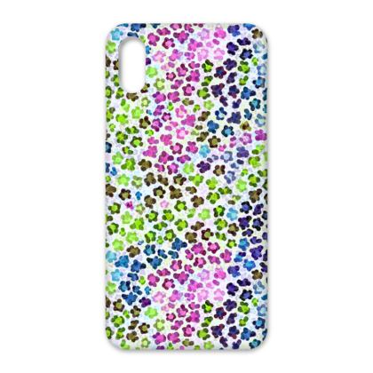 Leopard Skin Multicoloured Collection IPhone Cases