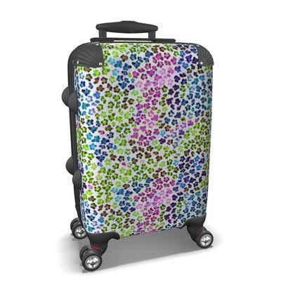 Leopard Skin Multicoloured Collection Suitcase