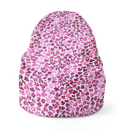 Leopard Skin in Magenta Collection Bean Bags