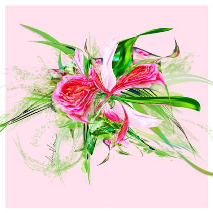 Cushion - Kudde - Pastells pink