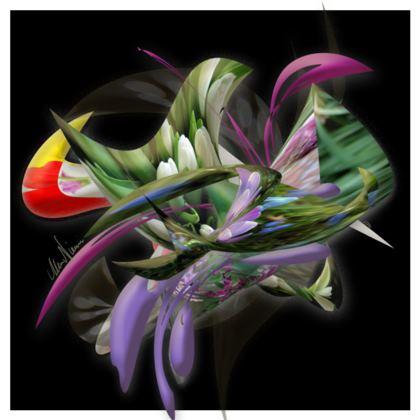 Cushion - Kudde - Spring Black