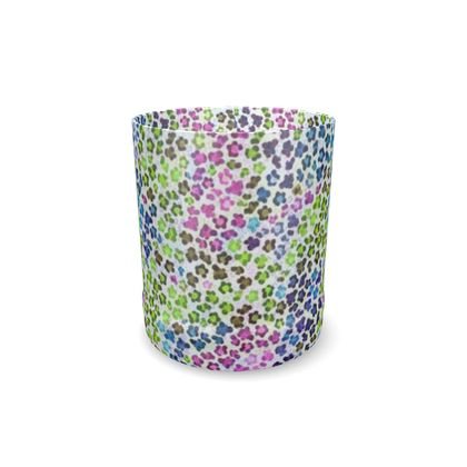 Leopard Skin Multicoloured Collection Whisky Glass