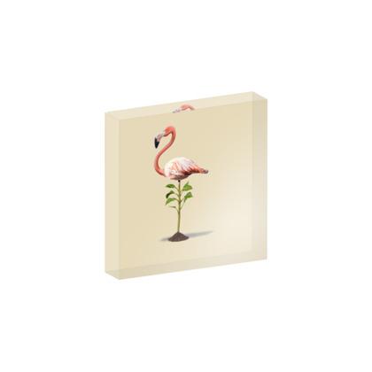 Planted ~ Colour Animal Behaviour Acrylic Block