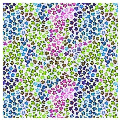 Leopard Skin Multicoloured Collection Cube