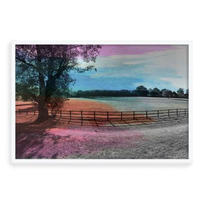 Framed Art Print- Colour Field (Left)