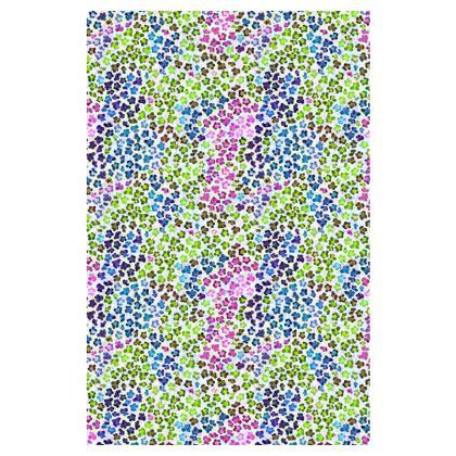 Leopard Skin Multicoloured Collection Slip Dress