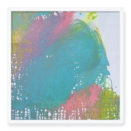 Framed Art Print- Rainbow Love