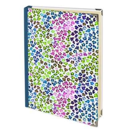 Leopard Skin Multicoloured Collection Journals