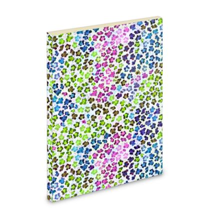 Leopard Skin Multicoloured Collection Pocket Note Book