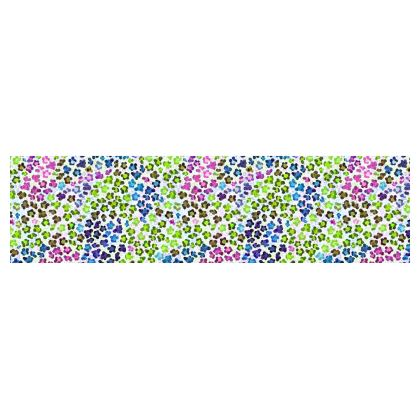 Leopard Skin Multicoloured Collection Drum Lamp Shade