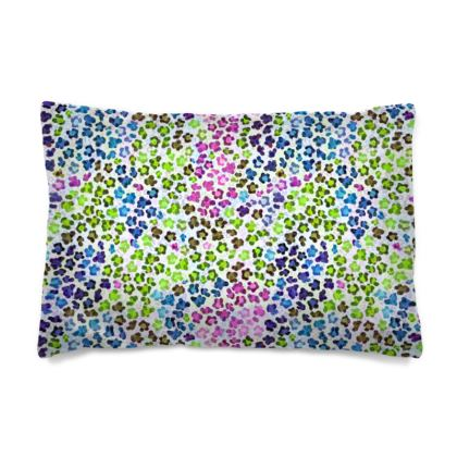 Leopard Skin Multicoloured Collection Pillow Case
