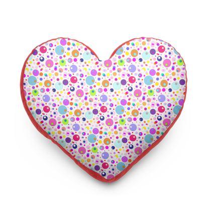 Atomic Collection Heart Cushion