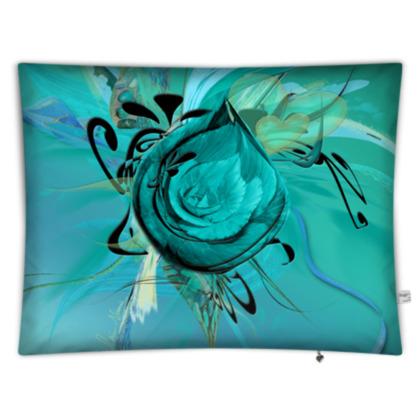 Floor Cushion - Golvkudde - Turquoise Turquoise