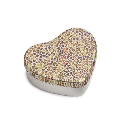 Leopard Skin Collection Sweet Heart Tin