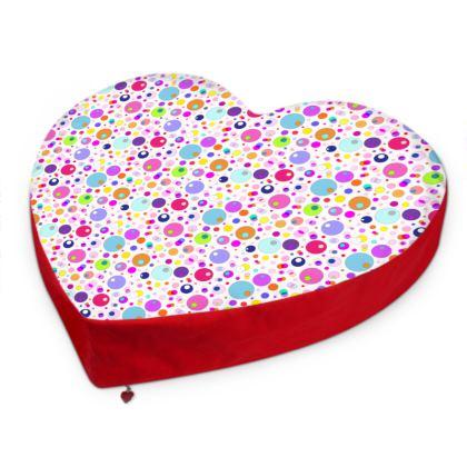 Atomic Collection Big Heart Cushion