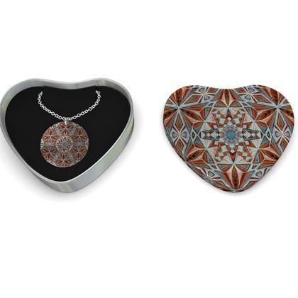 Sterling Silver Necklace Kaleidoscope Star 1