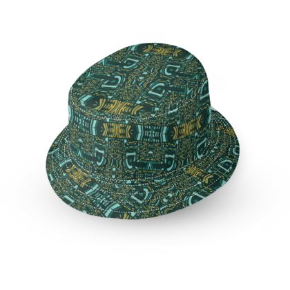 Island Aztec Glass Bucket Hat