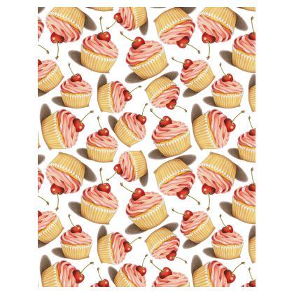 Twirling Pink Cupcake Tray