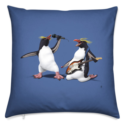 Rock ~ Colour Animal Behaviour Cushion
