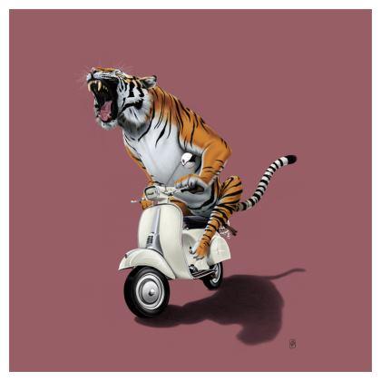 Rooooaaar! ~ Colour Animal Behaviour Cushion