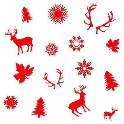 Christmas Coaster - Red Deer