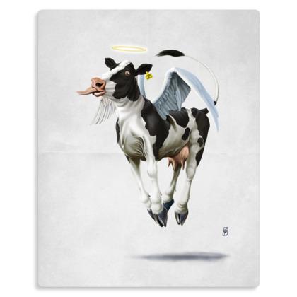 Holy Cow ~ Wordless Animal Behaviour Metal Print