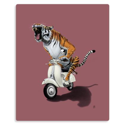 Rooooaaar! ~ Colour Animal Behaviour Metal Print