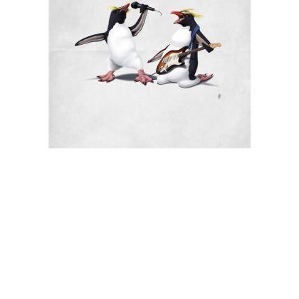Rock ~ Wordless Animal Behaviour Art Postcard