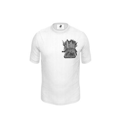 Sloth Back-print Cut and Sew T Shirt