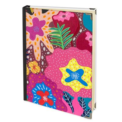 2022 Diary Secret Garden hand painted floral abstract