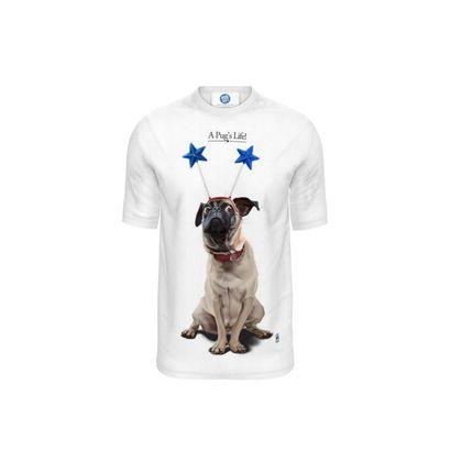 A Pug's Life ~ Title Animal Behaviour Cut and Sew T Shirt
