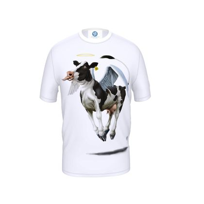 Holy Cow ~ Wordless Animal Behaviour Cut and Sew T Shirt