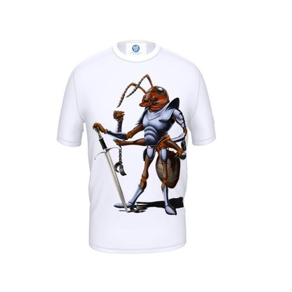 Soldiering On ~ Wordless Animal Behaviour Cut and Sew T Shirt