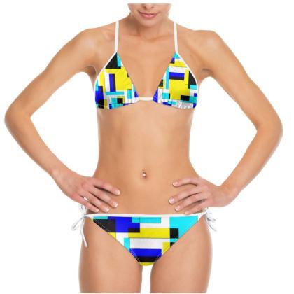 Bikini - Bright Squares