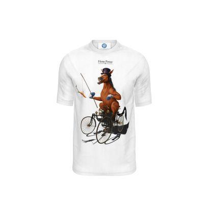 Horse Power ~ Wordless Animal Behaviour Cut and Sew T Shirt