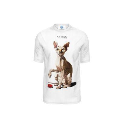 Cat-astrophe ~ Title Animal Behaviour Cut and Sew T Shirt