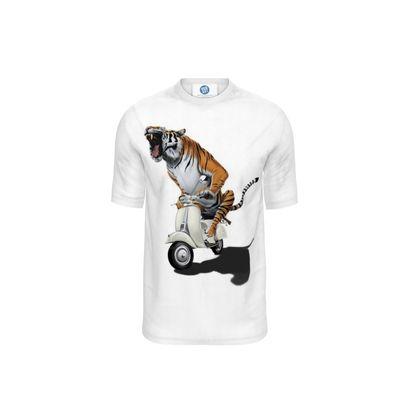 Rooooaaar! ~ Wordless Animal Behaviour Cut and Sew T Shirt