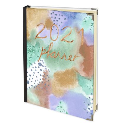 2022 Diary Planner soft colours
