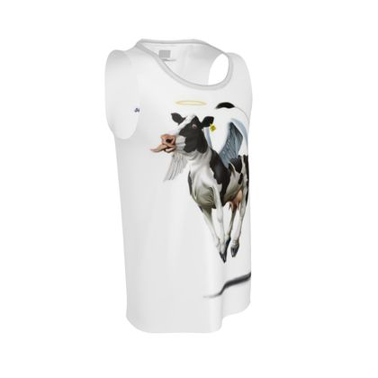 Holy Cow ~ Wordless Animal Behaviour Cut and Sew Vest