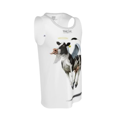 Holy Cow ~ Title Animal Behaviour Cut and Sew Vest