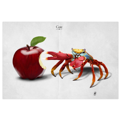 Core ~ Title Animal Behaviour Art Print