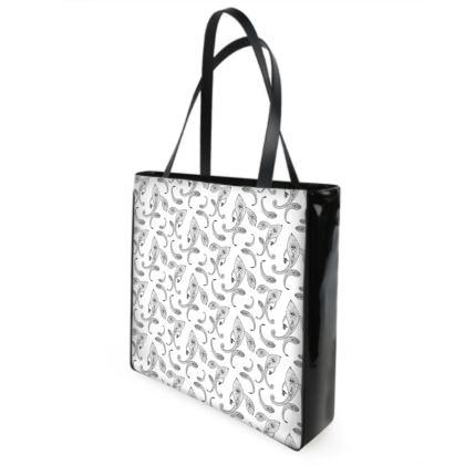 Paisley bandana shopper bag