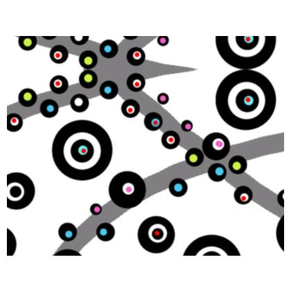 Black and White Dots Powerful Espadrilles