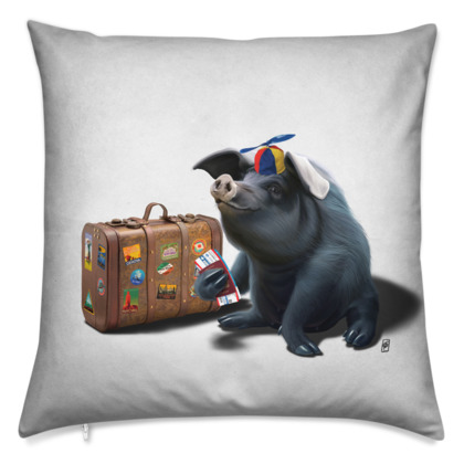 Might ~ Wordless Animal Behaviour Cushion
