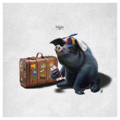 Might ~ Title Animal Behaviour Cushion