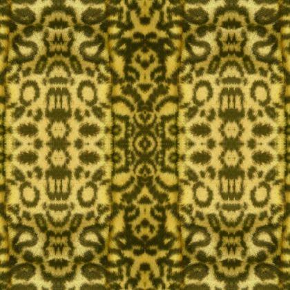 artificial fluffy fur Kimono