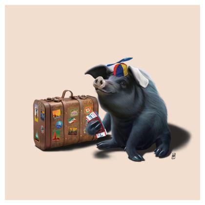 Might ~ Colour Animal Behaviour Cushion