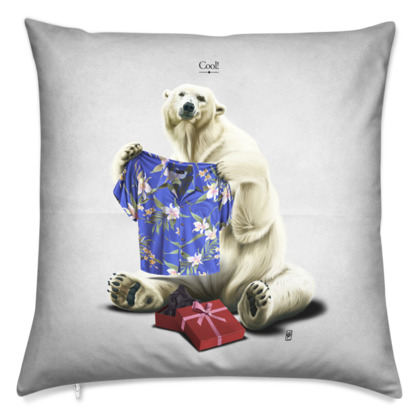 Cool! ~ Title Animal Behaviour Cushion