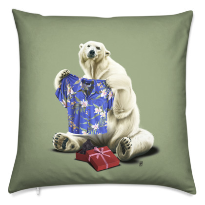 Cool! ~ Colour Animal Behaviour Cushion
